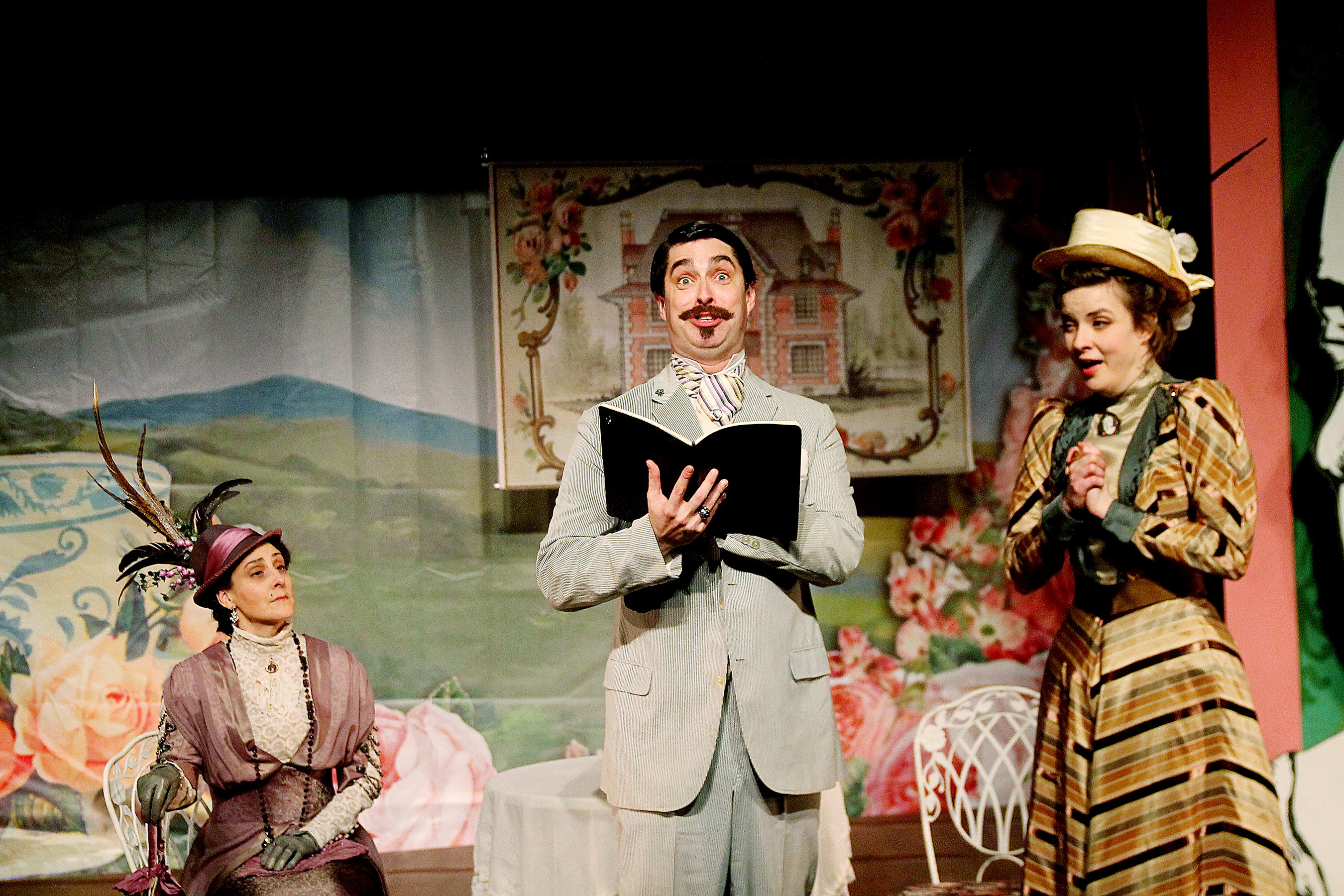 Bww reviews classical theatre company 39 s the importance of for Farcical comedy in the importance of being earnest