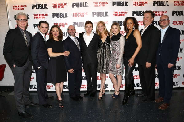 Photo Coverage: Chloe Grace Moretz, Jennifer Westfeldt & THE LIBRARY Company Celebrate Opening Night!