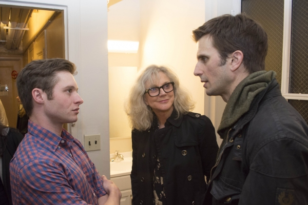 Photo Flash: Blythe Danner and Celia Keenan-Bolger Visit MOTHERS AND SONS