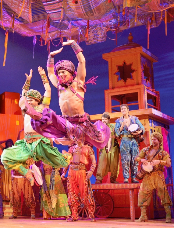GYPSY OF THE MONTH: Yurel Echezarreta of 'Aladdin'