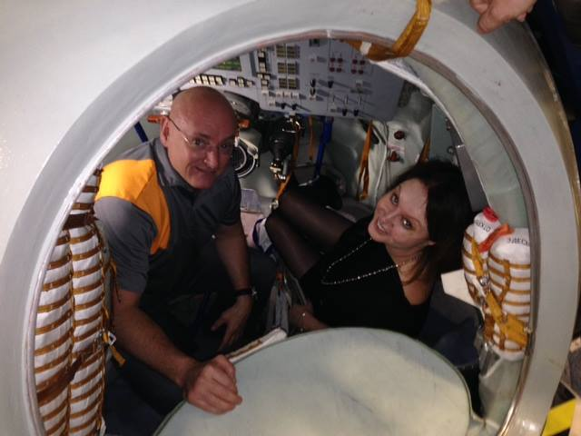 Sarah Brightman Visits Space Simulator & Describes It As 'A Moment Of Pure Happiness'