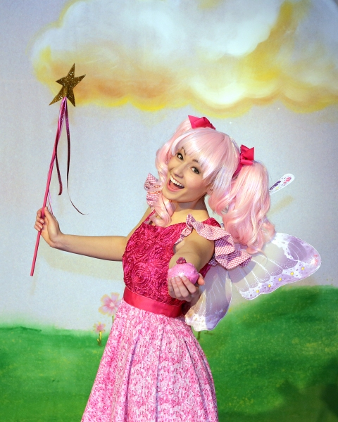 Halen Becker is Pinkalicious