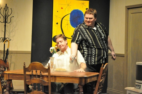 Photo Flash: First Look at THE ODD COUPLE at Lakewood Playhouse