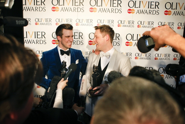 Photo Coverage: OLIVIERS 2014 - After Show, Lindsay, Friedman, Freeman and More!