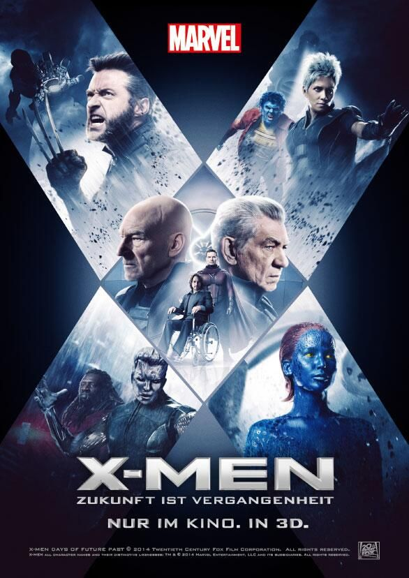 First Look - New International Poster for X-MEN DAYS OF FUTURE PAST