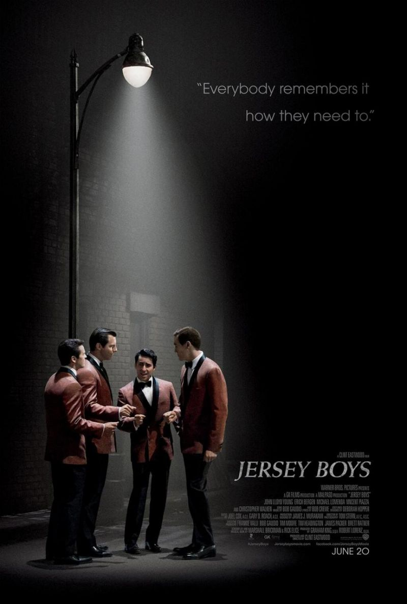 Photo Flash: First Official Poster for JERSEY BOYS Film Has Arrived!