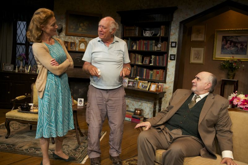 BWW Reviews: Tea Meets Sympathy Flavored with Wit in MANDATE MEMORIES