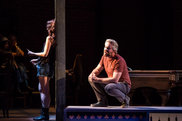 Photo Flash: First Look at Lauren Molina, Steel Burkhardt and More in TUTS Underground's MURDER BALLAD