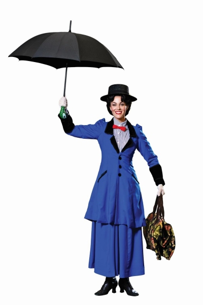 Photo Flash: Sneak Peek at Lauren Blackman as MARY POPPINS, Taking Flight at WBT This Summer