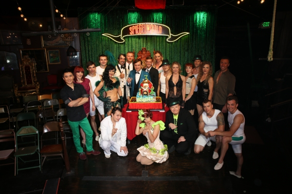 Cast of ABSINTHE with Producer Ross Mollison