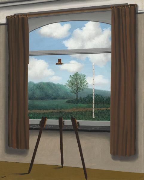 """Ren�'© Magritte (Belgian, 1898â€�""""1967). The Human Condition (La C Photo"""