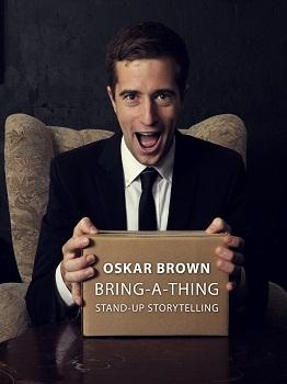 Oskar Brown in BRING-A-THING