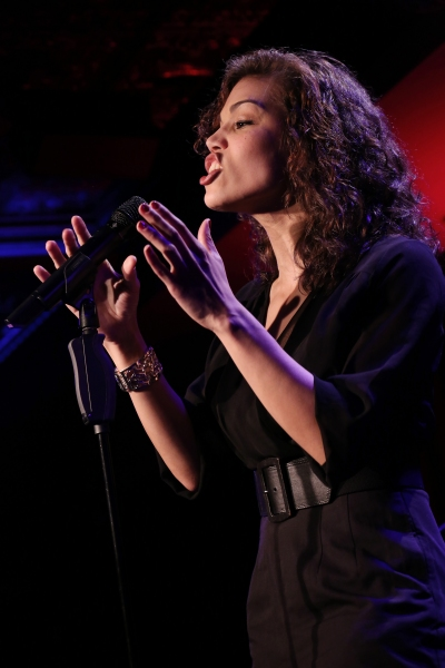 Photo Coverage: Ciara Renee & Andrew Lippa Rehearse THE WILD PARTY SWINGS at 54 Below