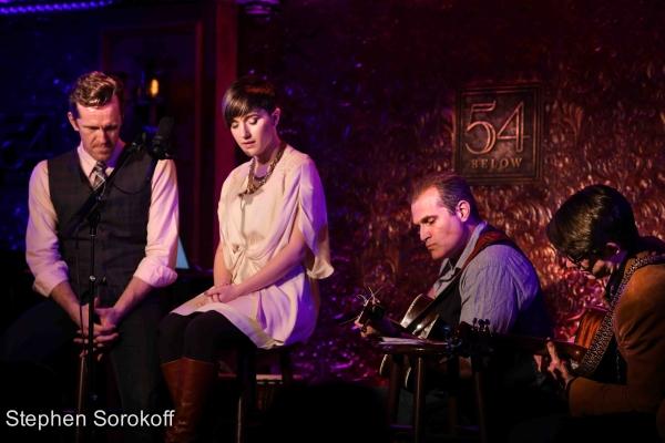 Jeffry Denman, Kimberly Kaye, Marc Kudisch, Timothy Splain Photo