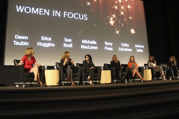 Dawn Taubin, Erica Huggins, Sue Kroll, Michelle Maclaren, Terry Press, Cathy Schulman, and Joanna Seller