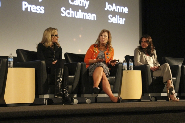 Michelle Maclaren, Terry Press, and Cathy Schulman