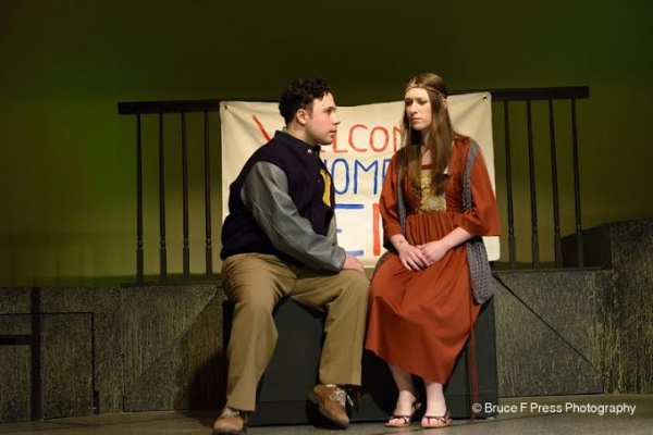Photo Flash: First Look at Red Branch Theatre Company's JOHN & JEN, Opening Tonight