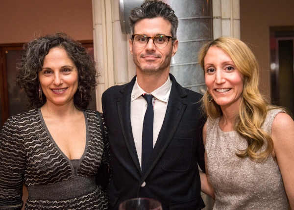 Jill Shapiro; Evan Shapiro, Founder of Pivot;  Jill Furman, Broadway Producer.  Photo credit: Marielle Solan.
