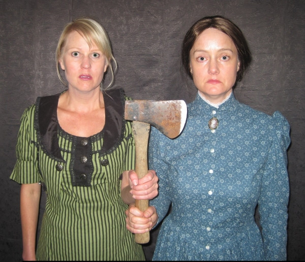 Did she or didn''t she do it? The two Lizzies (Meg Wallace and Carolyn Crotty) present both fact and speculation on what happened August 4, 1892, when Lizzie Borden''s father and stepmother were found bludgeoned in their family home.