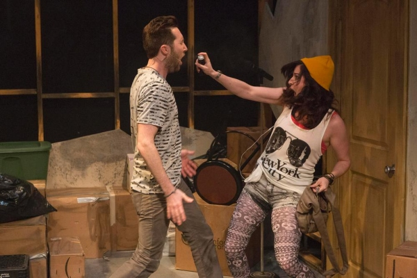 Chris Roe as Jesse and Lisa Ermel as Molly