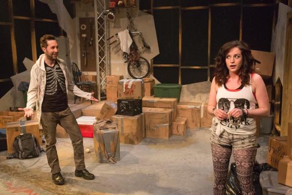 Chris Roe as Jesse and Lisa Ermel as Molly Photo