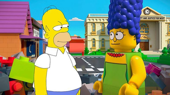 Photo Flash: A Look at THE SIMPSONS Lego Episode