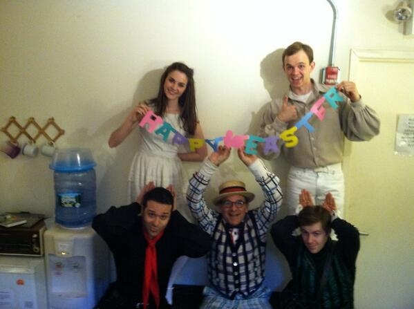 Photo Flash: Saturday Intermission Pics, 4/19- ROCKY, MAMMA MIA, and More Get Into the Spirit of Easter!
