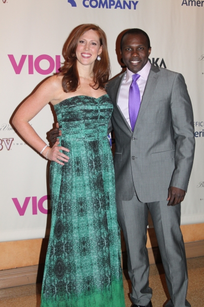 Photo Coverage: Sutton Foster and Company of VIOLET Celebrate Opening Night!