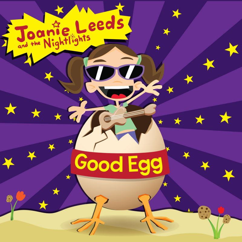 Joanie Leeds & The Nightlights Album 'Good Egg' Out 6/24
