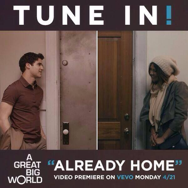 Behind The Scenes Of A Great Big World's 'Already Home' Music Video With Darren Criss