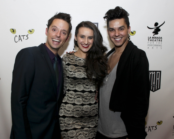 Cast members Daniel Dawson, Madison Mitchell and Jamie Joseph