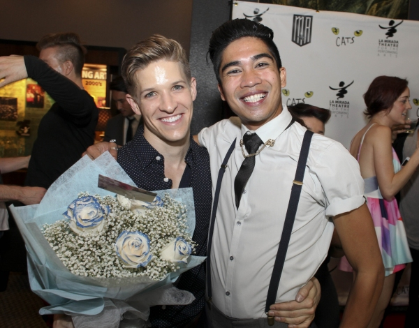Cast members Jake Dupree and Steven Agdeppa