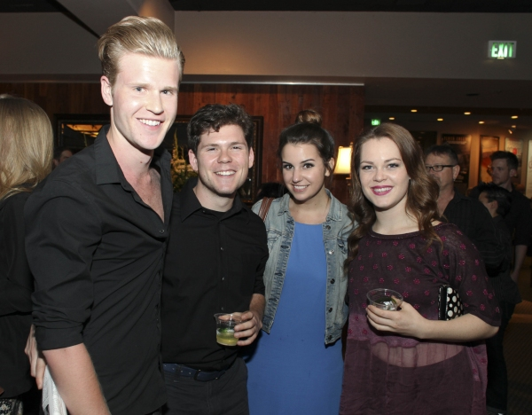 Austin MacPhee, Chris Meissner, Isabella Bolognini and Katheryne Penny