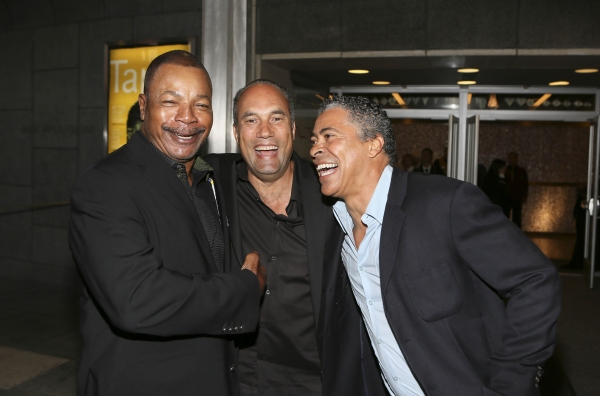 Actors Carl Weathers, Roger Guenveur Smith and Dominic Hoffman