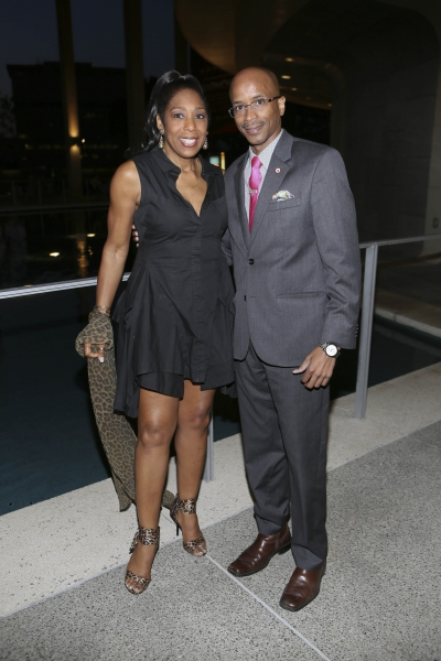 Actress Dawnn Lewis and Nolan V. Rollins, President and CEO of the Los Angeles Urban League