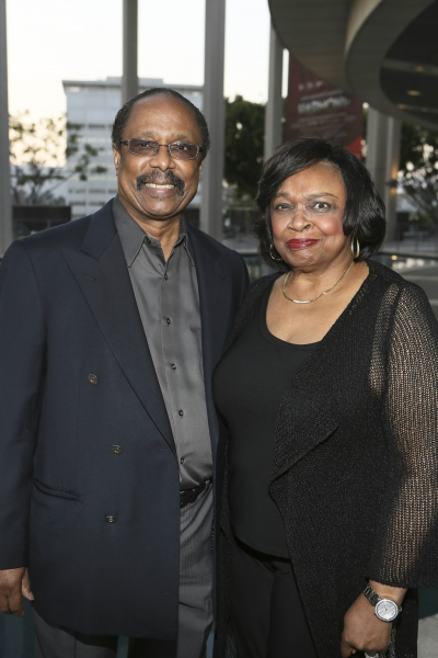 Musician Harold Wheeler and actress Hattie Winston Wheeler