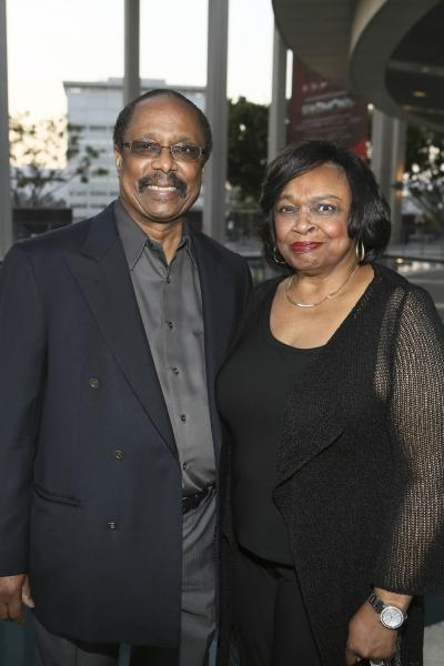 Musician Harold Wheeler and actress Hattie Winston Wheeler
