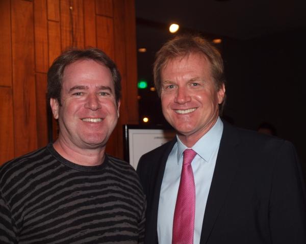 Publicist David Elzer and Tom McCoy