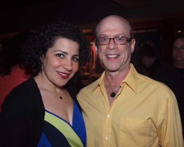Julie Garnye and Steven Hack