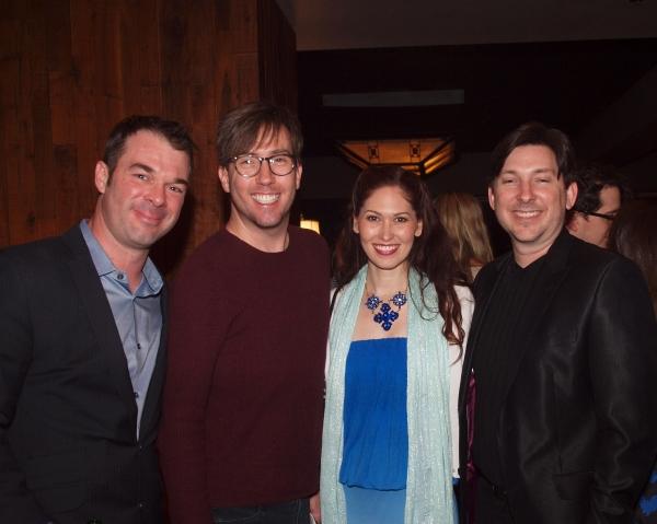General Manager Buck Mason, Steven Young, April Malina, and Jason Niedle