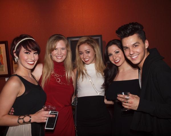 Nina Schreckengost, Liz Anne Edmunds, Ashley Matthews, Jebbel Arce, and Jamie Joseph Photo