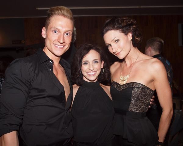 Brian Steven Shaw, Director and Choreographer Dana Solimando, and Lauren Decierdo Photo