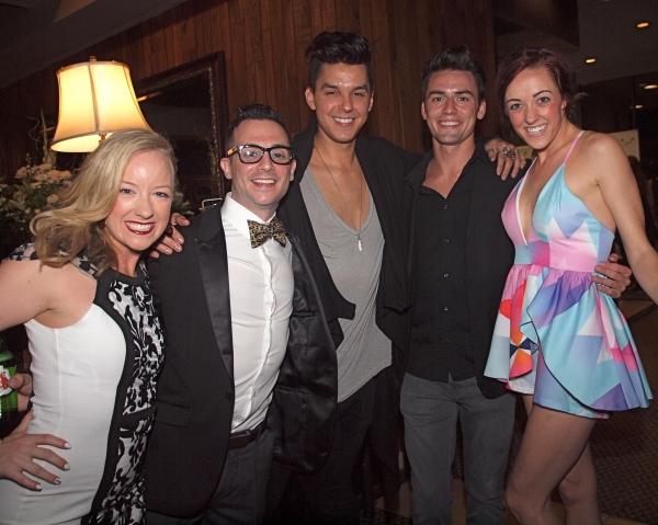 Hannah Jean Simmons, Dane Wagner, Jamie Joseph, friend, and Jenna Wright Photo