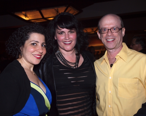Julie Garnye, Kelli Provart, and Steven Hack