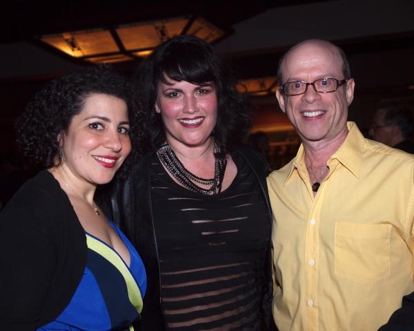 Julie Garnye, Kelli Provart, and Steven Hack Photo