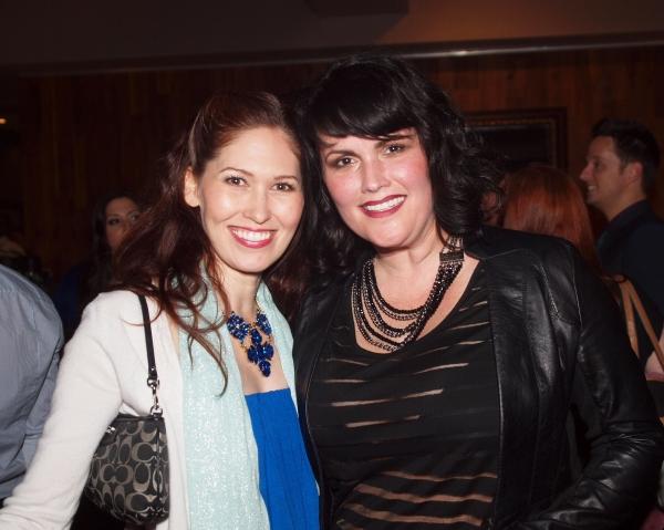 April Malina and Kelli Provart