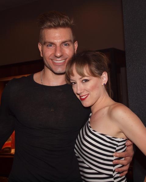 Karl Warden and Tiffany Reid