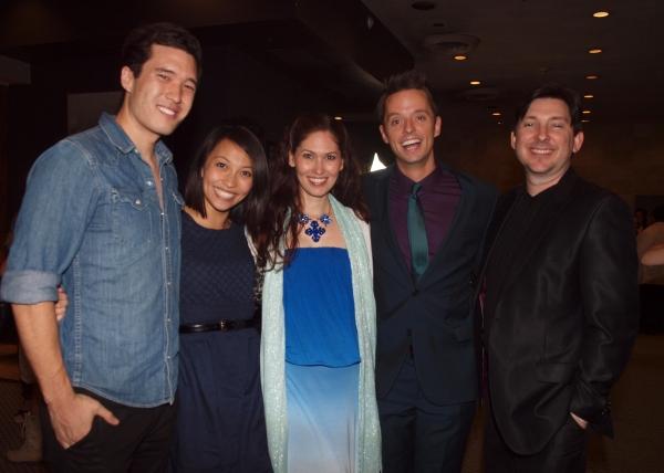 Terence Leavey, Nancy Lam, April Mailna, Daniel Dawson, and Jason Niedle