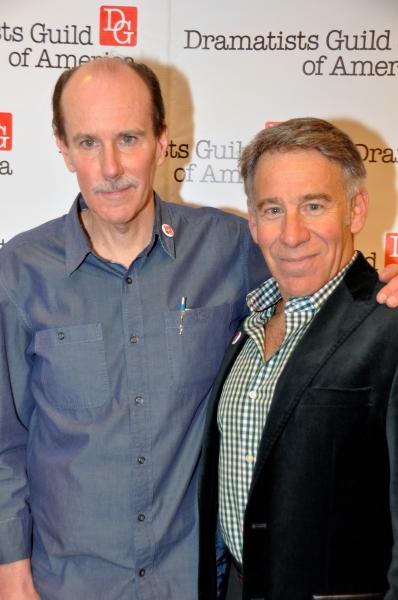 Craig Carnelia and Stephen Schwartz Photo