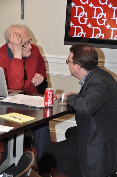 David Shire and Sean Patrick Flahaven Photo